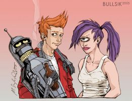 Futurama by bullsik