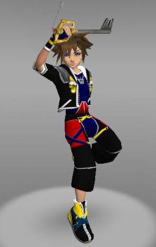 IMVU Sora Kingdom Hearts Card by ps2105