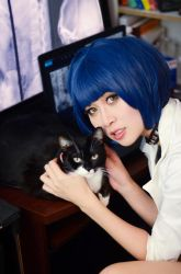 P5: Tae Takemi 03 starring Morgana by christie-cosplay