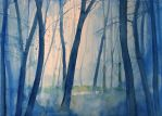 Nel bosco by andreuccettiart