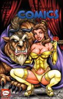 Beauty and the Beast sketch cover by gb2k