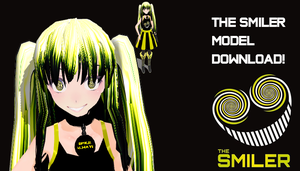 MMD The Smiler Model Download by MMDandSims3