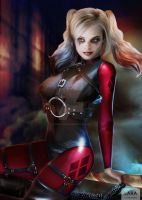 Suicide Harley Quinn by cosplaylala
