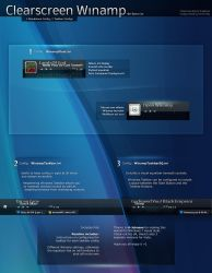 Clearscreen Winamp by XeroTrinity