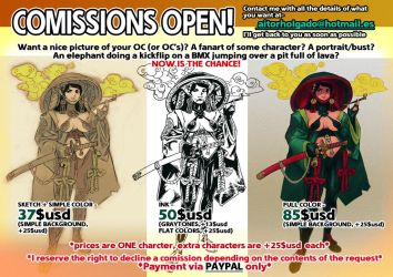 COMISSIONS OPEN! by BistroD