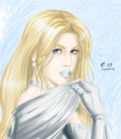 Emma Frost by Autumn-Sacura