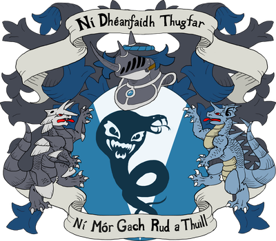 Tairngire Riocht Coat of Arms by FishBatDragonThing
