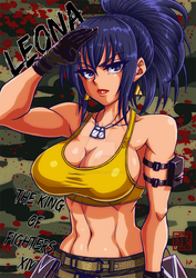 [THE KING OF FIGHTERS] LEONA by Gengoro-Akemori