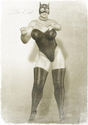 Vintage Female Wrestler 3 by mb08