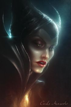 Maleficent by Carlo-Marcelo