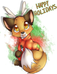 Happy Holidays~! by Kawaii4eva