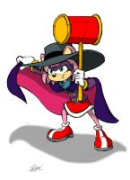 I am DARKWING HEDGEHOG! by MartonSzucsStudio