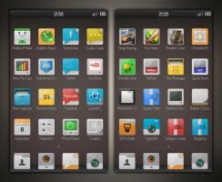 Signa theme v2.0 - QQLauncher by Vipitus