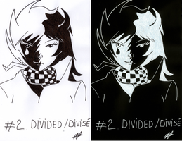 [Inktober 2017] 02 - Divided Divise by Nartance