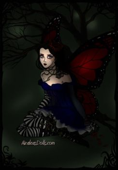 Dark Alice Faery by elijarman