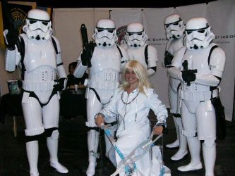 Storm Troopers meet Namine by Wolfblood11