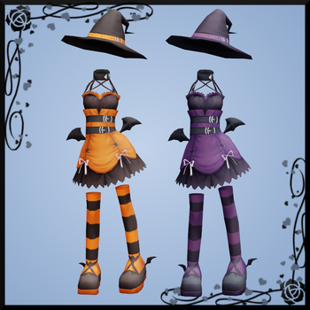 Pangya Halloween Outfit 2 DOWNLOAD by Reseliee