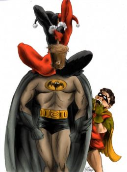 Batman Defeated by shutendogi