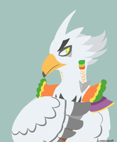Teba: Rito Warrior by candylabrum
