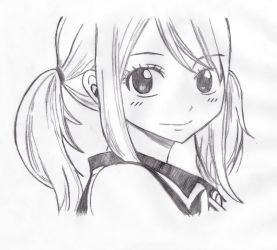 Fairy Tail Lucy by BloodyVampress44