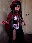 Zombie Red Riding Hood by doodle-disaster