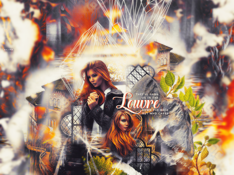 #21 Louvre - header/blend by Starved-Soul