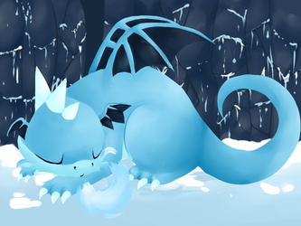 Ice Dragon by FrostedGear
