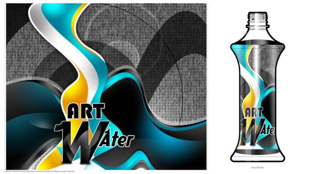 Art water contest - second des by Bolkadesign