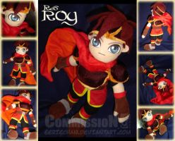 Red Roy Plushie by eERIechan