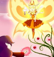 Queen Star vs Rosalia the witch by TurquoiseGirl35
