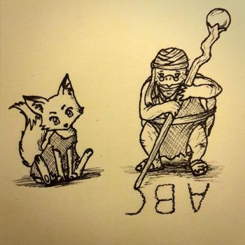 Inktober #16 - Time to learn, time to grow by das-Diddy