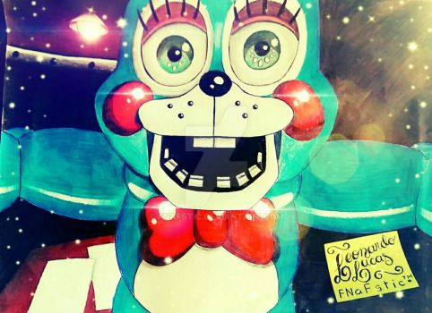 Toy Bonnie Jumpscare by FNAFstic