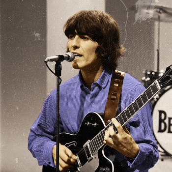 George Harrison...in colour by TheNowhereManLives