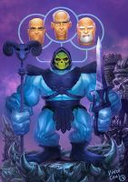 Skeletor: He-man by kidchuckle