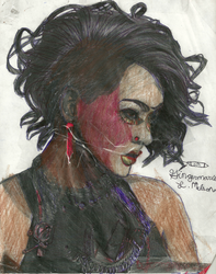 Portrait of me. by Sehya