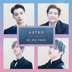 NAVER x DISPATCH ASTRO PHOTOSHOOT Png pack by RoxyNeonColors