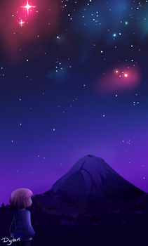 Undertale: excuse to draw stars by AremiAltaria-san