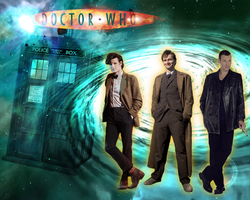 Doctor Who Wallpaper by whiteh-is-me