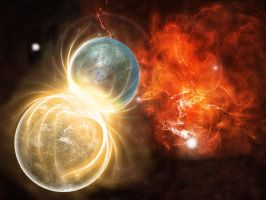 Planet Impact 3 by Francr2009
