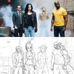 OC Collab Parody - The Defenders by Project00Wolfen