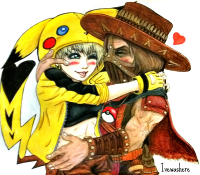 You're my Pika Girl~ by IveWasHere