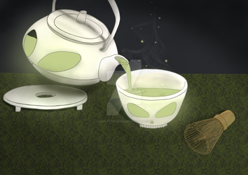 Matcha Do About Nothing by ArtlessDesigns