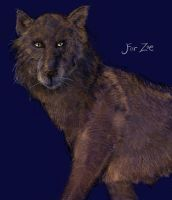 Wolf for Zoe by SineSquared