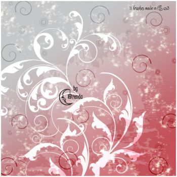Swirls II Brushes PS by Coby17