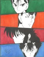 Yu Yu Hakusho!!! by Draw4fun2