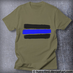 Law Enforcement Stripes by hassified