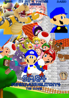 SMG4 poster by ElkeNew1131