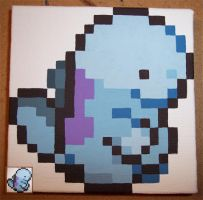 Pixel Painting: Quagsire by Zenity