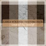 Large Scratch Textures by veredgf
