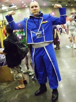 OTAKON 2009: Major Armstrong by InkkyFikky